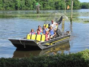 Airboat Tour at Plantation River Tours