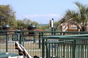 Beachfront grills