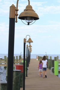 If you need a break from the sand, a boardwalk is a great place to stroll.