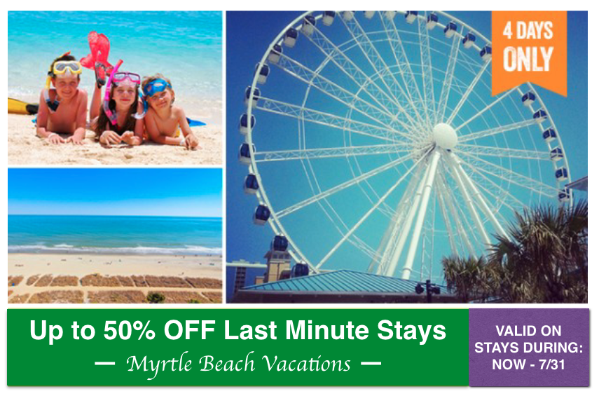 UP TO 50% OFF LAST MINUTE STAYS