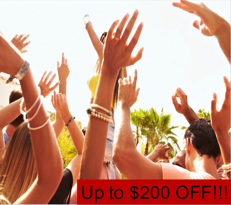 $200 OFF YOUR CCMF STAY IN JUNE 2017!!!