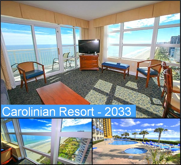 15% Off Nightly or Weekly Rates at Carolinian Resort #2033!