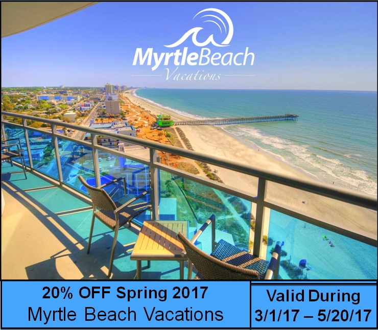 20% Off Spring 2017 Weekly and Nightly Rates!!!