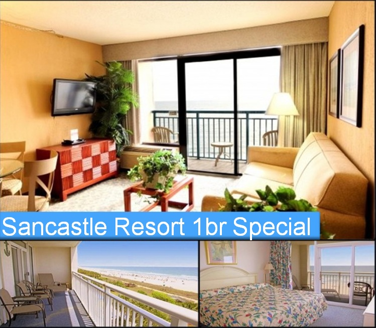 25% OFF Sandcastle Resort Stays!!!