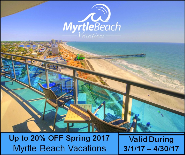 Up to 20% Off Spring 2017 Weekly and Nightly Rates!!!