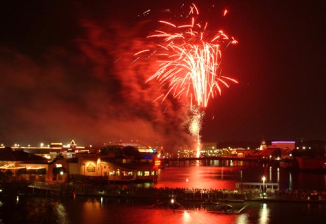 July 4 Fireworks, Myrtle Beach