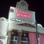 Night Shot of Pirates Voyage