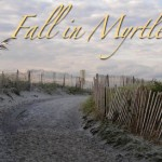 Autumn Myrtle Beach Path