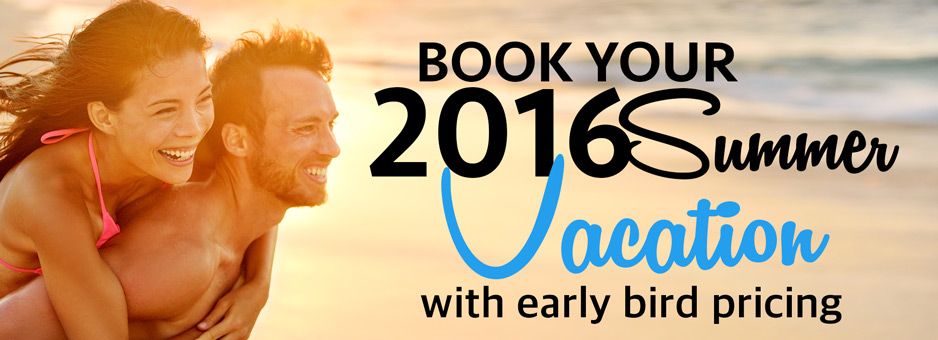 Book early save big