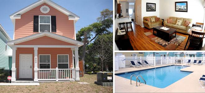 Gulf Stream Cottages   Myrtle Beach, SC