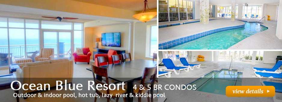 Luxury 4 and 5 bedroom oceanfront rentals
