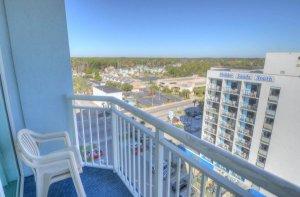 Guest Bedroom Balcony View 1