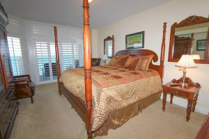 Huge master bedroom with 1 king bed