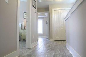 Beautiful tile flooring throughout