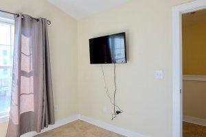 TV in 4th Bedroom