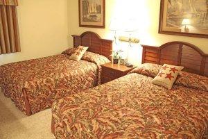 Two queens guest room