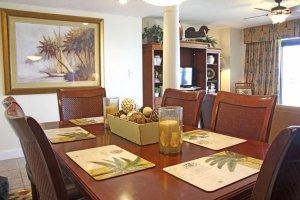 Upscale dining area