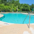 Community outdoor pool