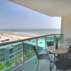 Lets eat outside beach view balcony