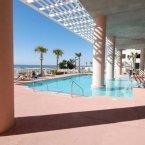 Greek style outdoor pool