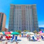 Beach view of Paradise Resort