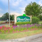 River Oaks entry