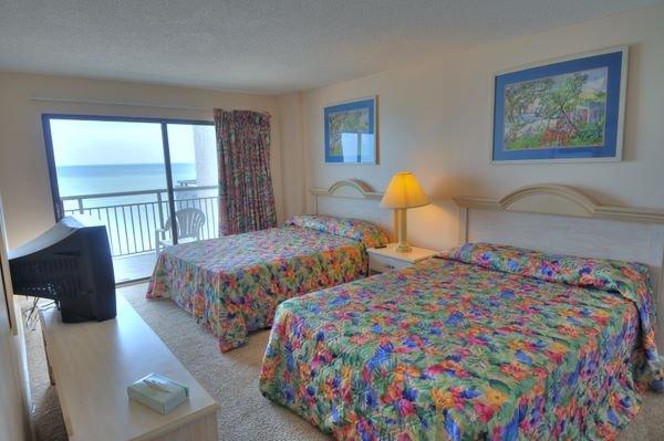 master bedroom guest bedroom view of blue water resort from