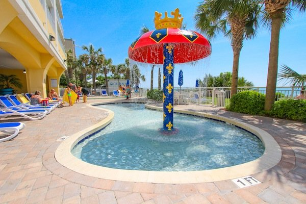 Camelot Resort Myrtle Beach View From The Of Direct Access Aka Stairway To Heaven Oceanfront Pool Kid With Mushroom