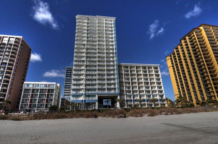 Carolinian Resort Myrtle Beach Oceanfront Condo Rentals