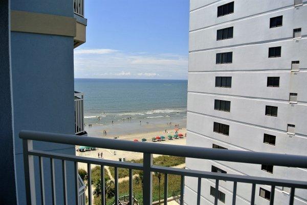 holiday suites 813 ocean view condo myrtle beach rentals
