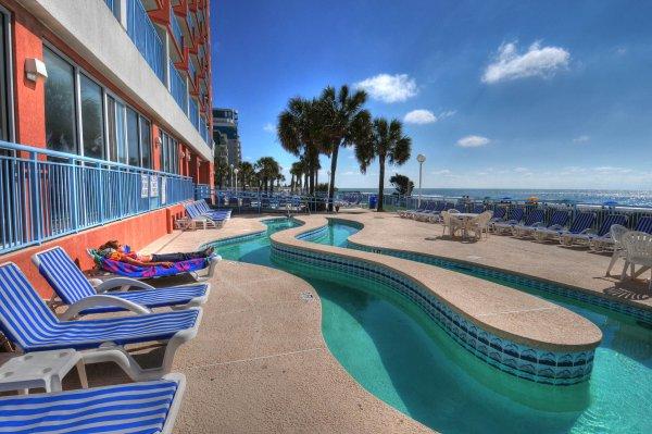 Myrtle Beach Resorts >> Roxanne Towers Myrtle Beach - Oceanfront Condo Rentals